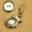 preiswerte Personalisierte Armbanduhren-personalisiertes Geschenk Legierung Uhr eingraviert Schlüssel Schnalle