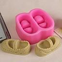hesapli Fırın Araçları ve Gereçleri-Bakeware araçları Silikon Kauçuk Çevre-dostu / 3D Kek / Kurabiye / Çikolota Pişirme Kalıp 1pc