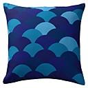 hesapli Yastıklar-1 adet Polyester Parçalı Yastık Yastık Kılıfı, Geometrik Modern/Çağdaş