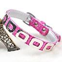 preiswerte Hundehalsbänder, Geschirre & Leinen-einstellbare PU-Leder-Punk-Stil Kragen für Hunde (verschiedene Farben, Größen)
