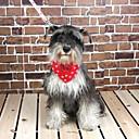 preiswerte Hundehalsbänder, Geschirre & Leinen-verstellbare Nylon und Canvas Punktmuster Dreieckstuch Halsband für Hunde (verschiedene Größen, zufällige Farben)