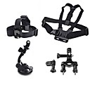 cheap Accessories For GoPro-Chest Harness Front Mounting Suction Cup Accessory Kit For Gopro Mount / Holder For Action Camera All Gopro Gopro 5 Gopro 4 Session Gopro