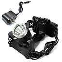 cheap Headlamps-Headlamps Headlight LED Cree® XM-L T6 Emitters 1600 lm with Charger Rechargeable Camping / Hiking / Caving Cycling / Bike Multifunction