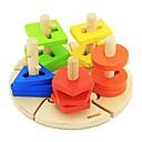 ieftine Pandative-benho lemn de mesteacan placă înțelepciune jucărie de învățământ din lemn 18m +
