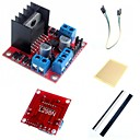 cheap Motors & Parts-L298N Dual H Bridge Stepper Motor Driver Controller Board Module  and Accessories for Arduino