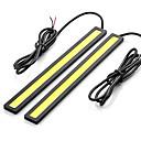 hesapli Araba Arka Lambaları-SO.K 2pcs Ampul 7 W COB 400 lm LED Güzdüz Çalışma Işığı For Uniwersalny Tüm Modeller Tüm Yıllar