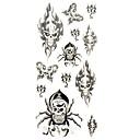 ieftine Tattoo Tips-Altele Acțibilde de Tatuaj - Multicolor - Model - 18.5*8.5cm - Dame/Bărbați/Adult/Adolescent - Hârtie - Dame/Bărbați/Adult/Adolescent -Model/Spate