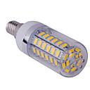 זול נורות תירס לד-YWXLIGHT® 1pc 10 W נורות תירס לד 1500 lm E14 T 60 LED חרוזים SMD 5730 לבן חם לבן קר 85-265 V / חלק 1