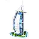 billige Mode Halskæde-tre-dimensionelle puslespil berømte bygning dubai hotel