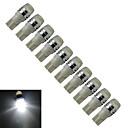 Недорогие Прочие светодиодные лампы-10 шт. 0.5 W 200-250 lm T10 Декоративное освещение 1 Светодиодные бусины Высокомощный LED Холодный белый 12 V