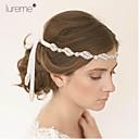 זול תכשיטים לשיער-רצועות ראש - חתונה/Party/יומי/קזו'אל (אבן נוצצת/בד)