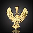 hesapli Bilezikler-Erkek Figaro Zinciri Uçlu Kolyeler / Kolye Uçları - Altın Kaplama Kolyeler Mücevher Uyumluluk Günlük, Spor