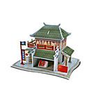 preiswerte Körperschmuck-pädagogische DIY chinesische Seide Shop Papiermodell