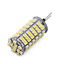 hesapli LED Araba Ampulleri-1pc 3 W 1200 lm G4 LED Mısır Işıklar T 102 LED Boncuklar SMD 3528 Sıcak Beyaz / Serin Beyaz 12 V / 1 parça / RoHs