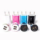 ieftine Încărcătoare de Mobil-Încărcător de Mașină / Încărcător Casă / Încărcător Portabil Încărcător USB Priză EU Kit de Încărcare / Multi Porturi 3 Porturi USB 2.1 A