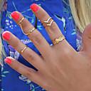 preiswerte Ringe-Damen - Aleación Personalisiert 8 Silber / Golden Für Alltag