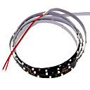 hesapli LED Şerit Işıklar-SENCART 1.2m Esnek LED Şerit Işıklar 90 LED'ler 3528 SMD Beyaz Kesilebilir / Kısılabilir / Bağlanabilir 12 V / Araçlar İçin Uygun / Kendinden Yapışkanlı / IP44