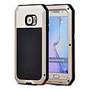 hesapli USB Kabloları-Pouzdro Uyumluluk Samsung Galaxy Samsung Galaxy Kılıf Su Geçirmez / Şoka Dayanıklı / Toz Geçirmez Tam Kaplama Kılıf Zırh Sert Metal için S6 / S5 / S4
