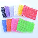 """hesapli MacBook Kılıfları, Çantaları ve  Kapları-11 için japonya düzeni silikon klavye kapağı cildi """", 13"""", 15 """", 17"""" mac macbook air pro / retina (çeşitli renklerde) coosbo®"""