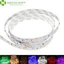 preiswerte LED Lichtstreifen-SENCART 1m Flexible LED-Leuchtstreifen 60 LEDs Warmes Weiß / RGB / Weiß Schneidbar / Abblendbar / Verbindbar 12V / 3528 SMD