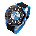 cheap Rings-Men's Sport Watch Quartz Silicone Band Analog Black - Black / Blue