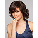 cheap Makeup & Nail Care-Synthetic Wig Wavy Synthetic Hair Wig Women's Short Capless Brown
