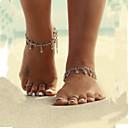 ieftine Bijuterii de Corp-Pentru femei Bijuterii de corp Brățară Gleznă / Sandale Desculț / picioare bijuterii Argintiu Design Unic / Ciucure / Vintage Aliaj Costum de bijuterii Pentru Zilnic / Casual / Plajă Vară
