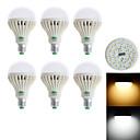 preiswerte LED-Kugelbirnen-850-900 lm E26/E27 LED Kugelbirnen G60 28 Leds SMD 3528 Dekorativ Warmes Weiß Kühles Weiß Wechselstrom 85-265V