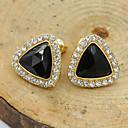 Buy Women's Stud Earrings Crystal Fashion European Costume Jewelry Rhinestone Gold Plated 18K gold Imitation Diamond Austria
