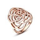 hesapli Küpeler-Kadın's Bildiri Yüzüğü - Kübik Zirconia, alaşım Moda Tek Beden Altın / Gümüş Uyumluluk Parti