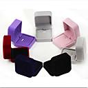 Недорогие Упаковка и стенды для украшений-Коробки для бижутерии - Мода Тёмно-синий, Черный, Красный 7 cm 7 cm 4 cm / Жен.