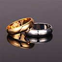 cheap Rings-Women's Band Ring Ring - Platinum Plated, Gold Plated, Alloy Vintage, Party, Work Gold / Silver For Party Anniversary Birthday