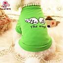 رخيصةأون Nokia أغطية / كفرات-قط كلب T-skjorte ملابس الكلاب الملاك والشيطان أرجواني أخضر قطن كوستيوم من أجل الصيف الكوسبلاي الزفاف