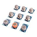 Недорогие Аксессуары для Wii-Датчик газа комплект MQ-2 MQ-3 MQ-4 MQ-5 MQ-6 MQ-7 MQ-8 MQ-9 MQ-135 датчик для Arduino Модуль