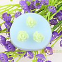 preiswerte Backzubehör & Geräte-Blume geformt Fondantkuchen Schokoladensilikonformen, Backformen Dekorationswerkzeuge