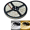 abordables Bandes Lumineuses LED-5m Bandes Lumineuses LED Flexibles 300 LED 5050 SMD Blanc Chaud / Blanc Imperméable 12 V / IP65