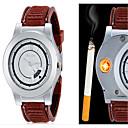 ieftine Module-Bărbați Ceas de Mână Quartz Piele PU Matlasată Negru / Maro Creative Analog Alb Negru Maro Un an Durată de Viaţă Baterie
