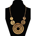 cheap Necklaces-Women's Statement Necklace - Statement, European, Fashion Gold, Screen Color Necklace Jewelry For