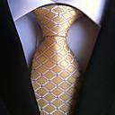 رخيصةأون ربطات عنق-ربطة العنق منقوش رجالي - طباعة حفلة / عمل / أساسي