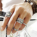 cheap Rings-Women's - Alloy Elephant, Flower, Animal Punk, European, Fashion 8 For Party Daily Casual