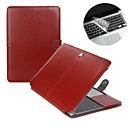 hesapli MacBook Kılıfları, Çantaları ve  Kapları-MacBook Kılıf Solid PU Deri için MacBook Air 13-inç / MacBook Air 11-inç