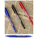 preiswerte Spiel Sets für Kinder-Marker & Textmarker Stift Permanent Marker Stift, Kunststoff Rot Schwarz Blau Tintenfarben For Schulzubehör Bürobedarf Packung