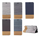 저렴한 갤럭시 S 시리즈 케이스 / 커버-케이스 제품 Samsung Galaxy 삼성 갤럭시 케이스 카드 홀더 스탠드 플립 전체 바디 케이스 한 색상 PU 가죽 용 Grand Prime E7 E5 Core Prime