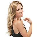 hesapli Makyaj ve Tırnak Bakımı-Sentetik Peruklar Dalgalı Ombre Sentetik Saç Ombre Peruk Kadın's Uzun Bonesiz Sarışın