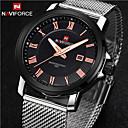 preiswerte Uhren Herren-Herrn Uhr Armbanduhr Quartz Edelstahl Silber Kalender Analog Charme Klassisch Silber Golden