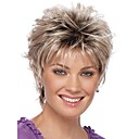 cheap Makeup & Nail Care-new curly short women wigs synthetic hair wig blonde with dark roots ombre hair wig
