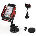 povoljno Cellphone & Device Holders-auto vjetrobransko montirati 360 stupnjeva držač mobitela GPS navigacijski MP4 Black Red