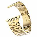 abordables Coques d'iPhone-Bracelet de Montre  pour Apple Watch Series 3 / 2 / 1 Apple papillon Boucle Acier Inoxydable Sangle de Poignet