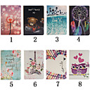 cheap Galaxy S Series Cases / Covers-Case For Kindle / Amazon Full Body Cases / Cases with Stand Full Body Cases Novelty Hard PU Leather for