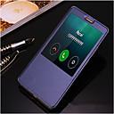 Χαμηλού Κόστους Γυναικεία ρολόγια-SHI CHENG DA tok Για Huawei / Huawei Mate 8 Mate 8 / Θήκη Huawei με βάση στήριξης / με παράθυρο / Αυτόματη αδράνεια / αφύπνιση Πλήρης Θήκη Μονόχρωμο Σκληρή PU δέρμα για Huawei Mate 8 / Huawei